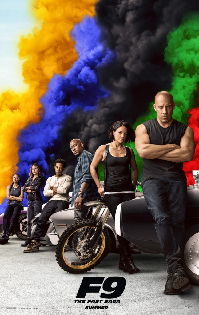 1st Trailer For 'Fast & Furious 9: The Fast Saga' Movie