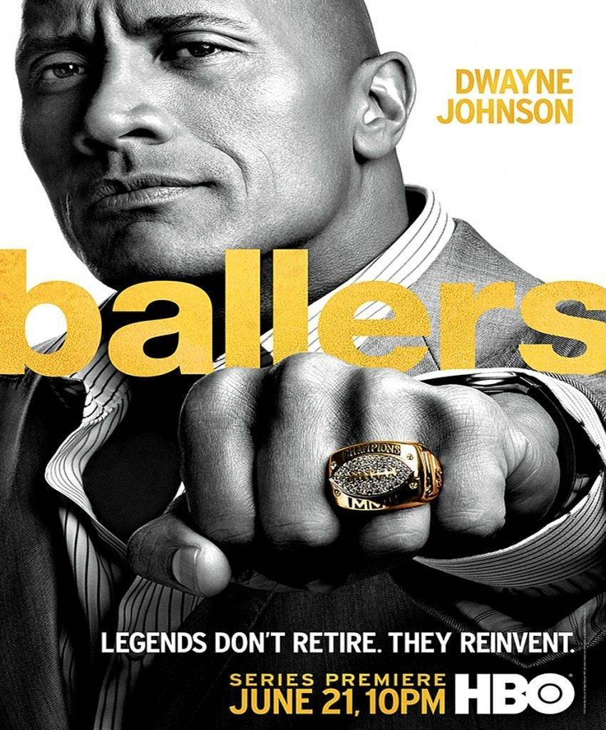 'HBO's Ballers' TV Show (Promo Poster)