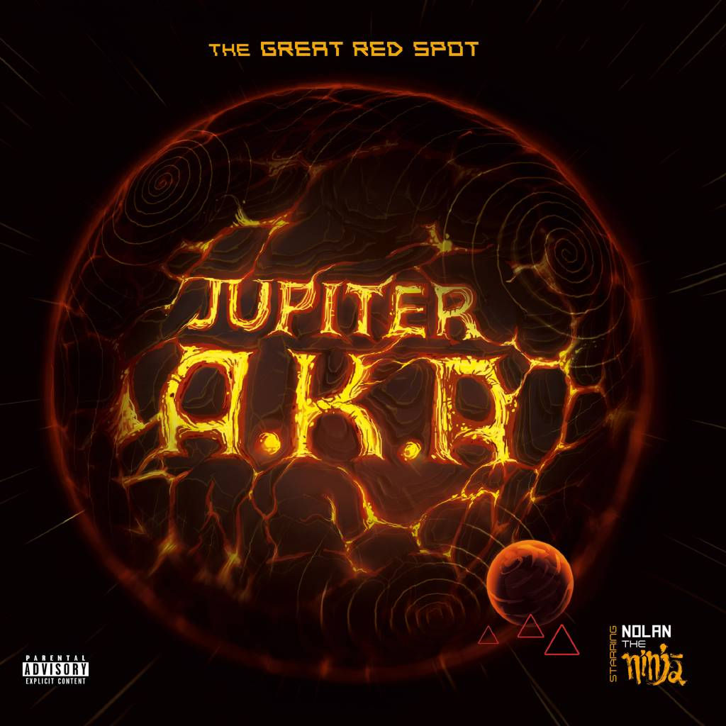 Jupiter A.K.A. - The Great Red Spot (Official) [Album Artwork]