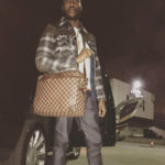 Meek Mill Rocking Purse Carry-On For Travel