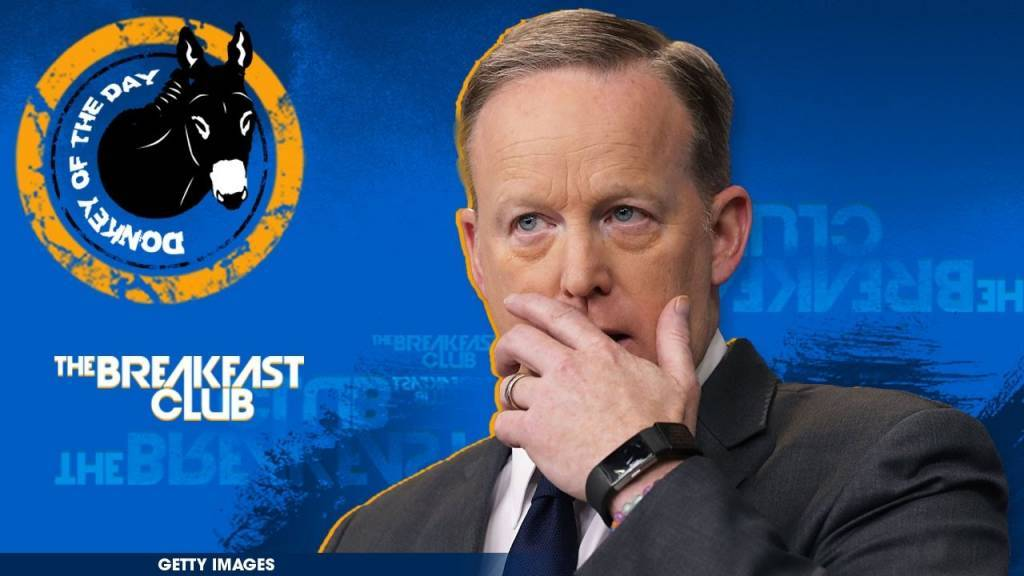 Sean Spicer Awarded Donkey Of The Day For Referencing Hitler & Holocaust During White House Press Speech