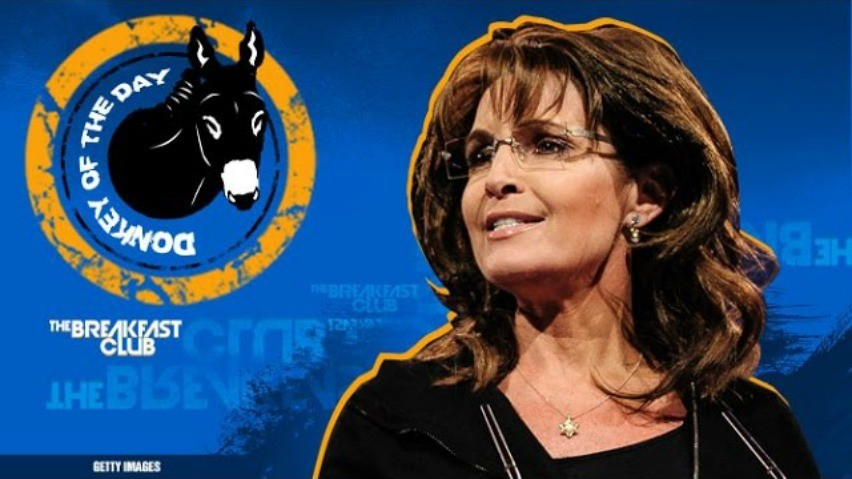 Sarah Palin Awarded Donkey Of The Day For 'Thuggery' Comments